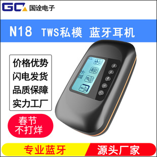 New private model TWS Bluetooth headset N18 noise reduction Amazon cross-border multi-function mp3 wireless headset
