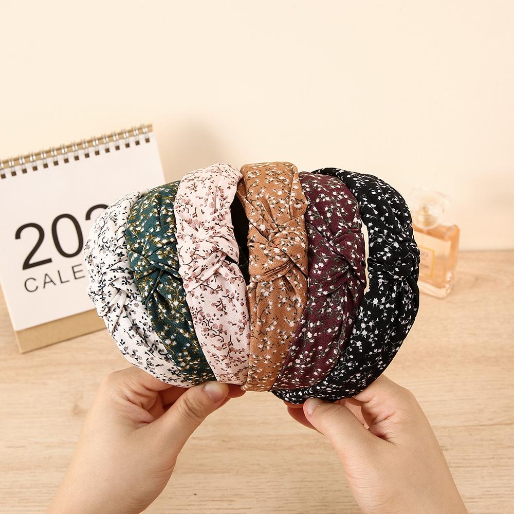 wholesale jewelry floral fabric headband Nihaojewelry NHCL382481