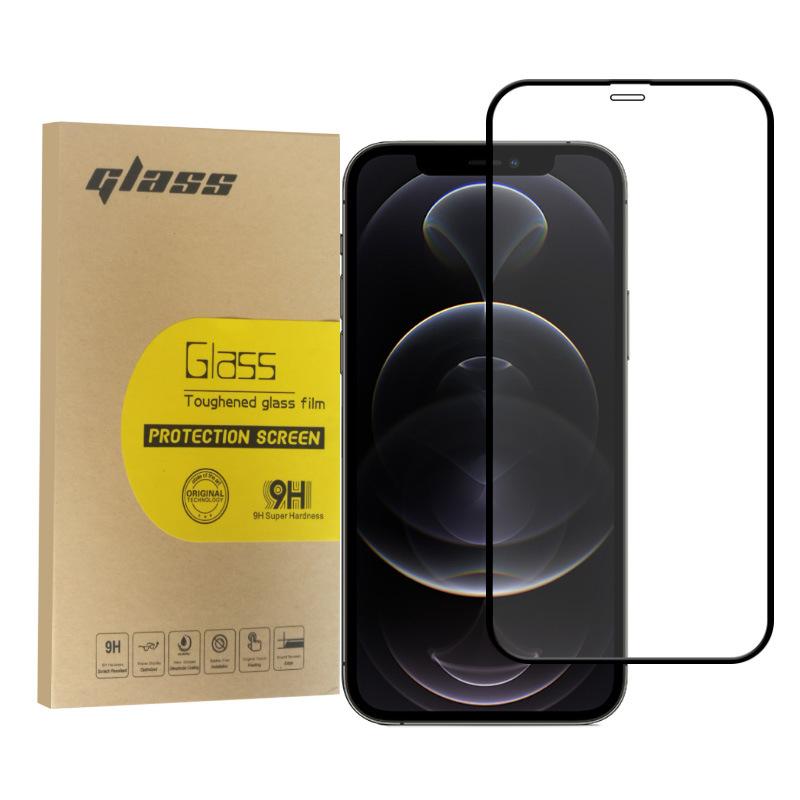 适用苹果iPhone12钢化膜 iphone11全屏钢化膜 苹果手机膜跨境批发