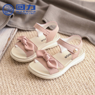 Pull back children's shoes 2021 summer new style sandals girls breathable casual shoes Velcro elementary school baby shoes