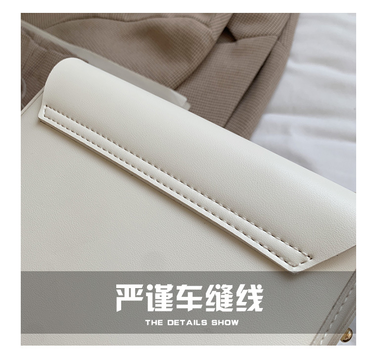 fashion solid color saddle bag wholesale NHWH337676