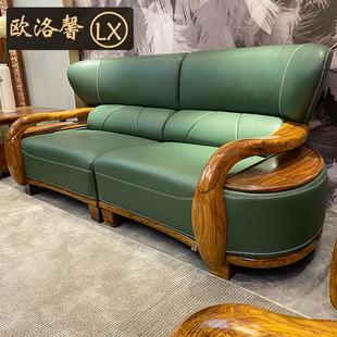 新中式沙发冬夏两用中式家具中国风别墅客厅多功能全实木储物沙发