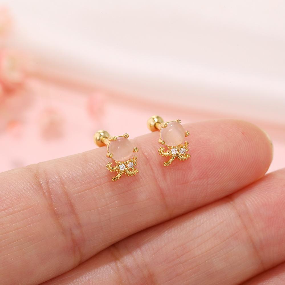 Wholesale spin ball earring Nihaojewelry marine animal ear bone studs single NHUW379101