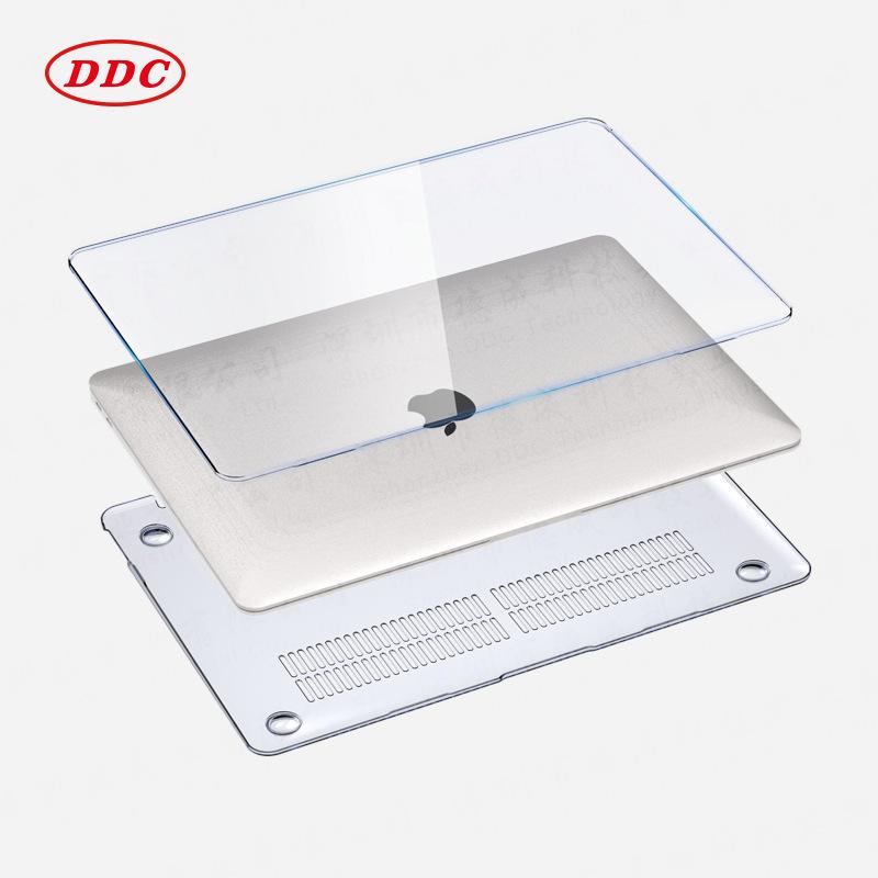 macbook air 保护壳case水晶透明适用 苹果笔记本电脑保护套 外壳