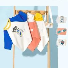 巴拉巴拉儿童T恤男童短袖T恤上衣宝宝童装夏装纯棉韩版潮洋气百搭