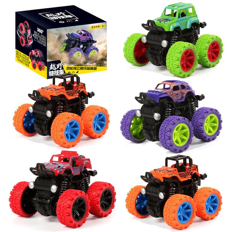儿童玩具仿真惯性四驱特技越野车汽车玩具车夜市地摊玩具批发礼品