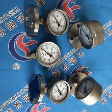 YTPF-100MG工字型隔膜压力表 防强腐全塑隔膜压力表
