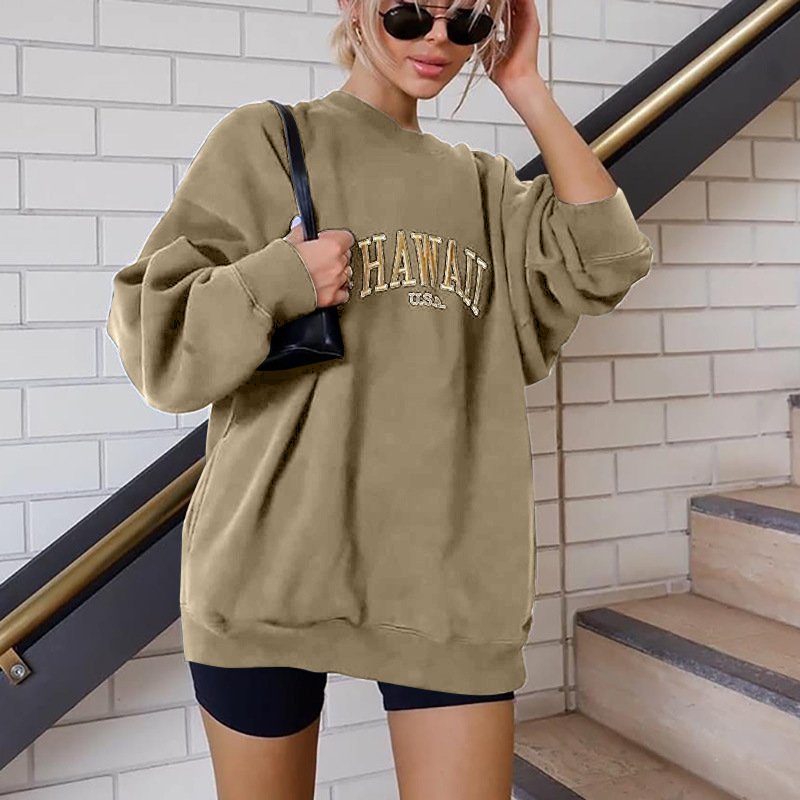 New Hot Sale Letters Printed Sweater  NSGJ64395