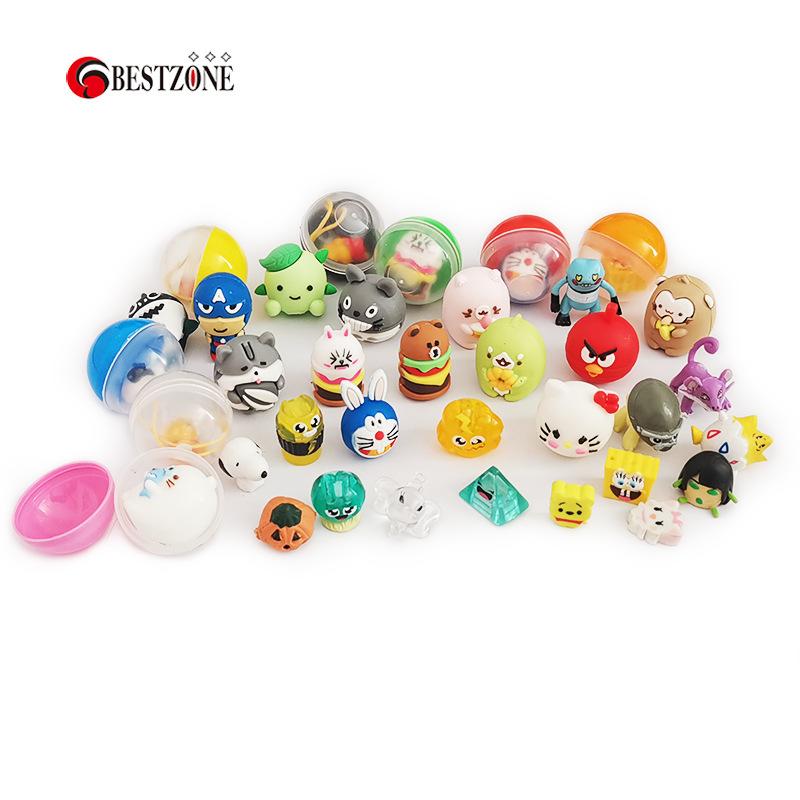 32mm混装3.2cm扭蛋公仔玩具亲子游戏机礼品蛋透明彩壳球 扭蛋玩具