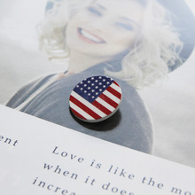 跨境源头厂家美国独立日胸章美国国旗胸针节日饰品