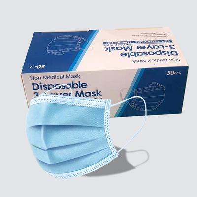 货源Disposable face mask 3layers?????3ply nonwoven Masker批发