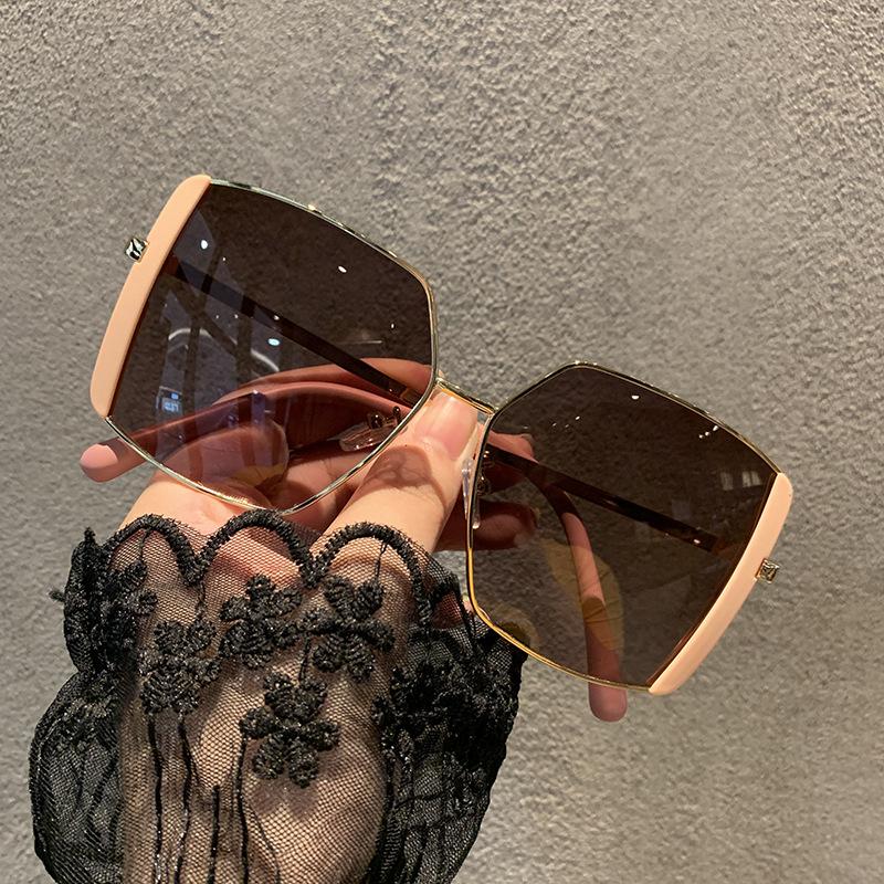 Korean big frame square sunglasses wholesale NHKD333370