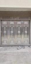 平开室外工业风防盗美中式订做大欧式入户大门四折大门