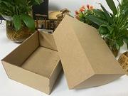 木质包装盒坯木盒礼品盒木坯收纳盒密度板盒天地盖木坯盒包装定制