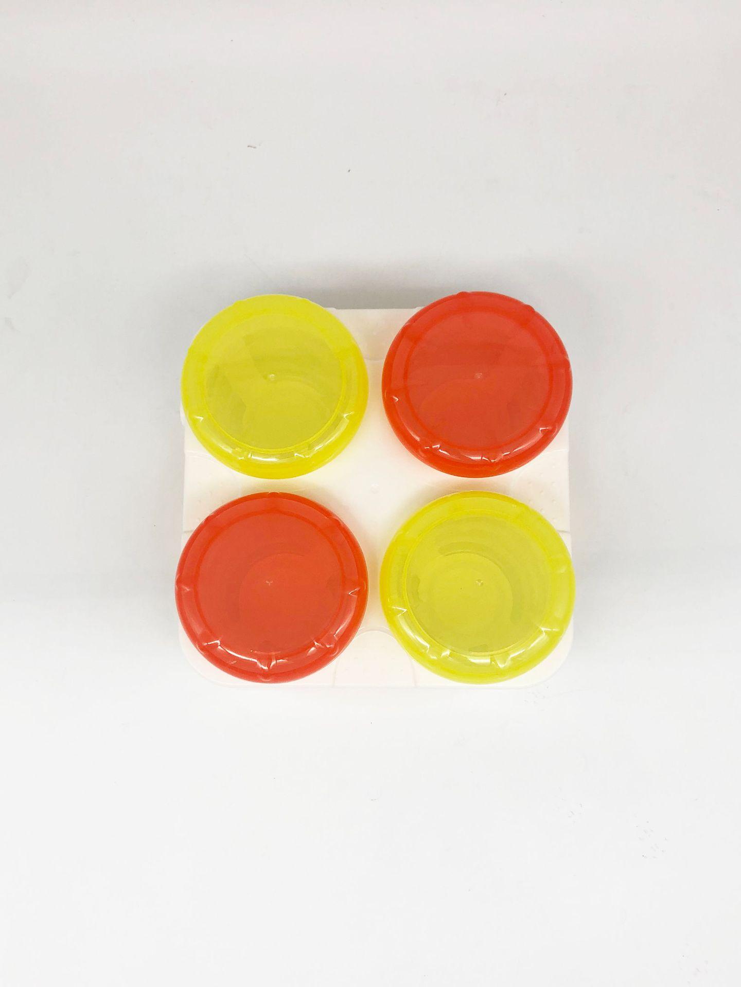 鲸之爱PP密封保鲜盒密封罐外带便携奶粉盒奶粉格零食储物罐保鲜盒