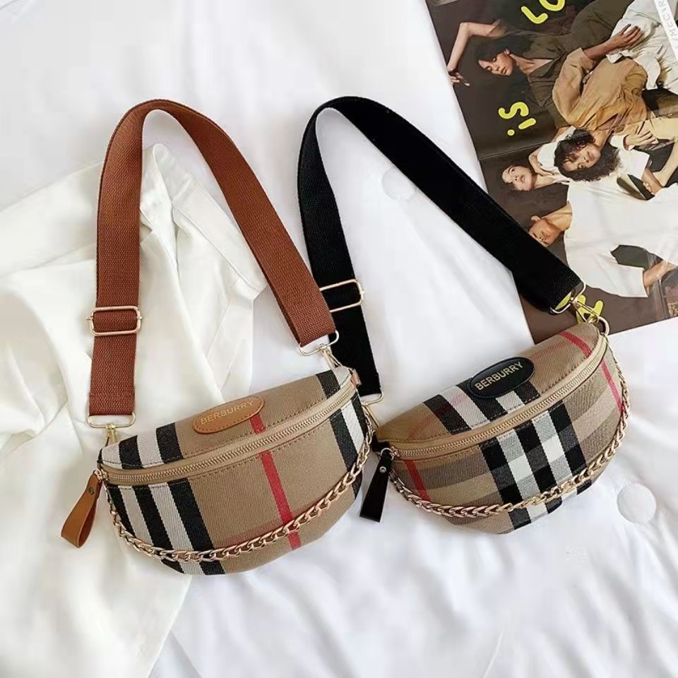 New style bag women canvas chest bag lat...