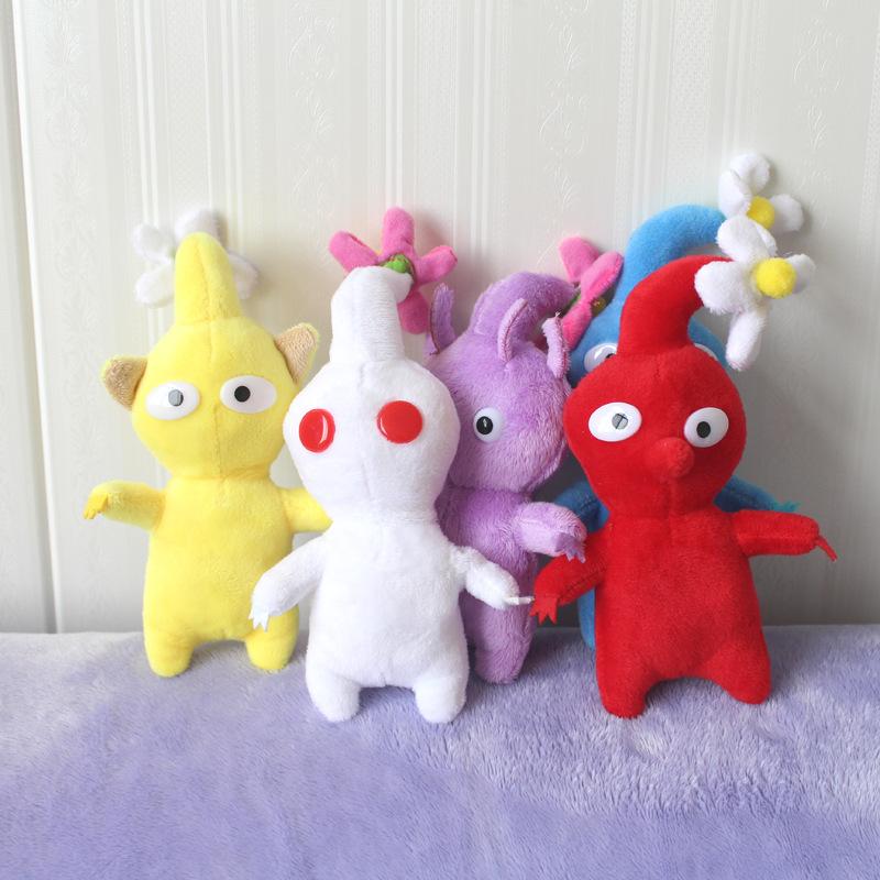 跨境新款皮克敏毛绒玩具PIKMIN奥利马公仔任天堂游戏周边娃娃玩偶