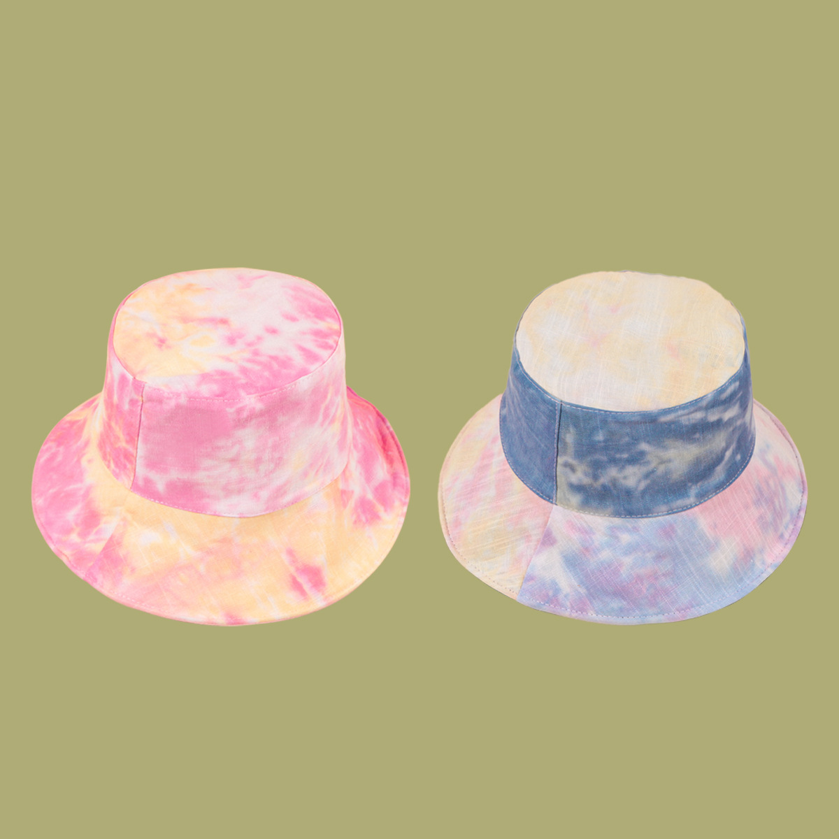 Fashion tiedyed widebrimmed sunshade fisherman hat NHTQ335975