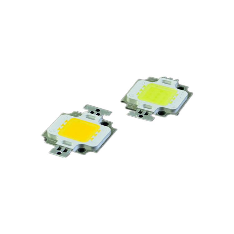 深圳供应10W集成灯珠 白光集成led灯珠 暖白贴片式LED灯珠可定制