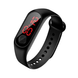 Night market children's watch boys and girls elementary and middle school students Korean fashion trend sports luminous waterproof boy electronic watch