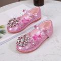 儿童水晶公主鞋2021春季新款女童鞋中大童韩版鞋小女孩表演鞋潮鞋