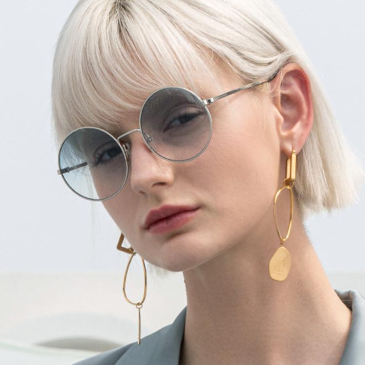 retro round metal sunglasses wholesale NHKD366661
