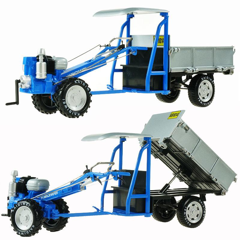 拖拉机玩具模型男孩玩具车工程小型迷你起重机汽车模手扶拖拉机