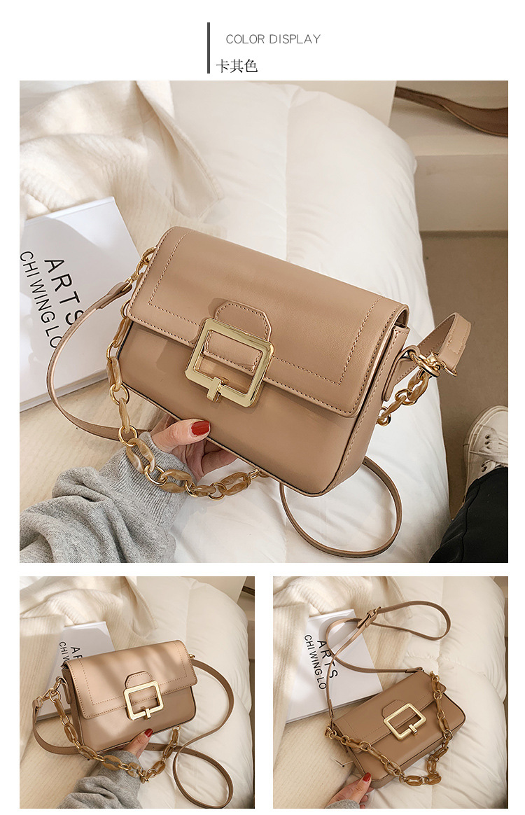 new one-shoulder small square bag  NHTG305654