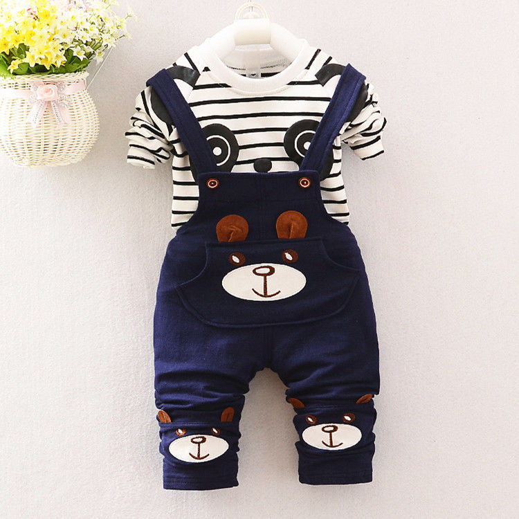 sweater two-piece suit kids Korean style...