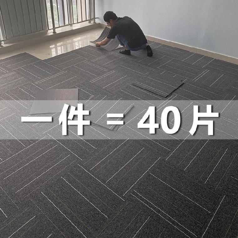 地毯方塊毯直播間寫字樓居家地板墊健身房地毯墊爬行毯臥室毯屋內