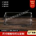厂家直供亚克力盒子亚克力透明展示盒球类罩子长方形亚克力盒批发