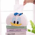 鸭毛绒公仔抽纸盒 居家抽纸盒 可爱卡通纸巾套客厅茶座毛绒纸巾盒