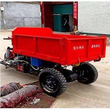 厂家定制加长电动三轮车拉货2吨载重工地电瓶车农用载货运输厂家