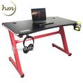 厂家LOGO定制 LED遥控灯电竞桌 主播网红办公桌电脑桌 网吧电竞桌