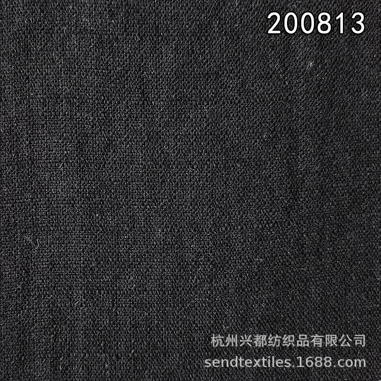 200813天丝麻格子布2