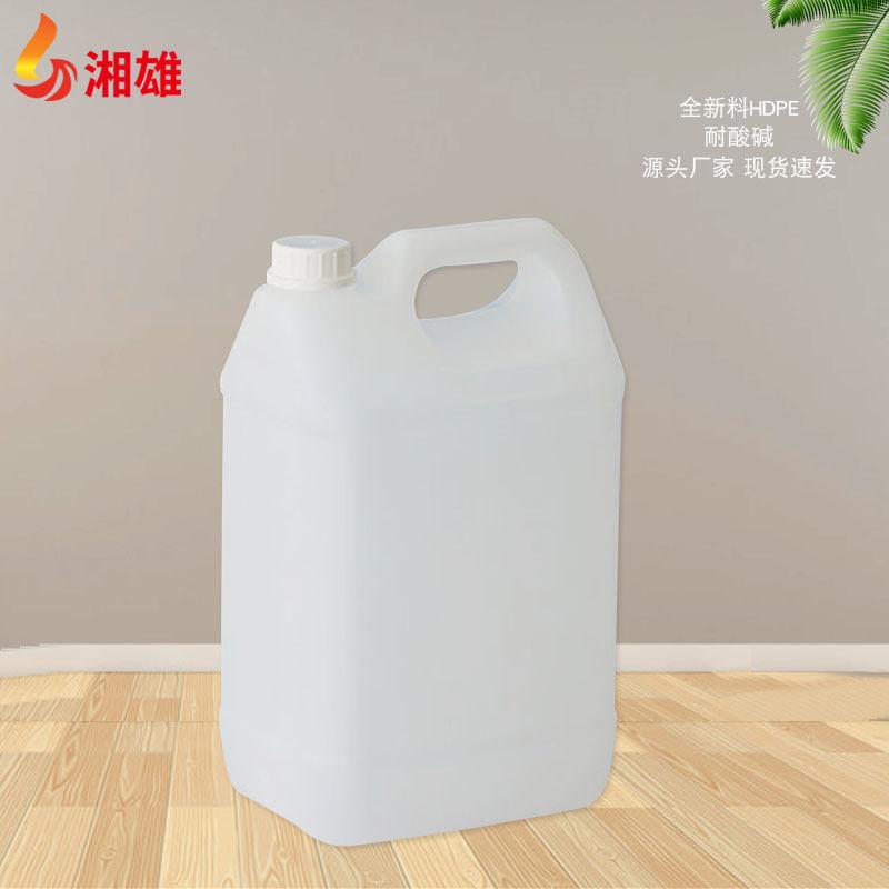 湘雄加厚带盖钛白5l塑料桶 塑料桶吨桶工业化工包装塑料方桶批发