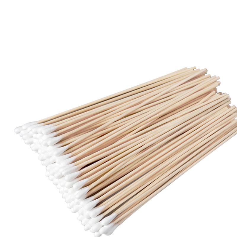 CSKJCLEAN 无尘棉签擦拭棒 工业净化棉签 6寸单头木杆棉签