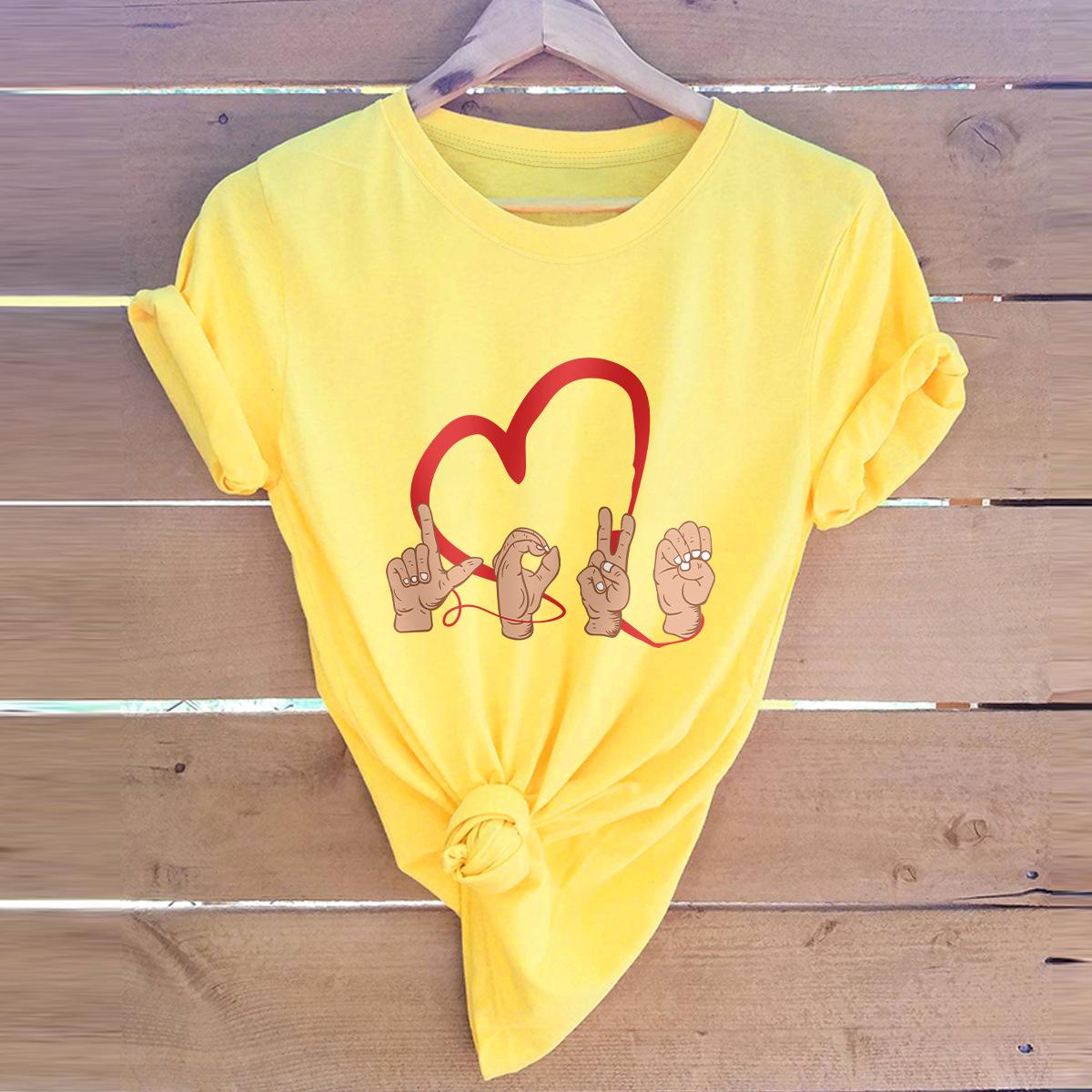 Valentine's Day love simple t-shirt  NHSN307425