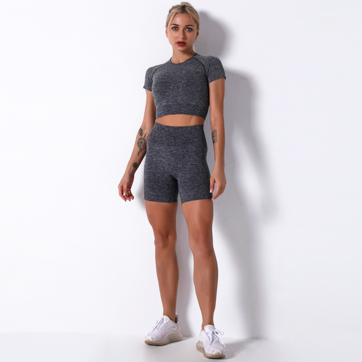 sexy tight-fitting sports fitness set NSLX50105