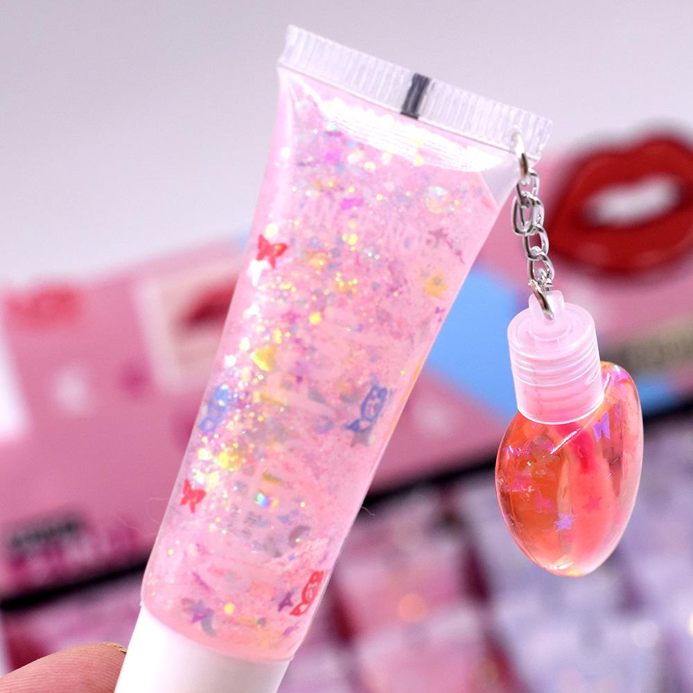 [IMAN OF NOBLE] L308 sequined lip oil pl...