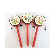 经典传统吉祥年画拨浪鼓 手摇鼓拨浪鼓中国经典传统玩具批发