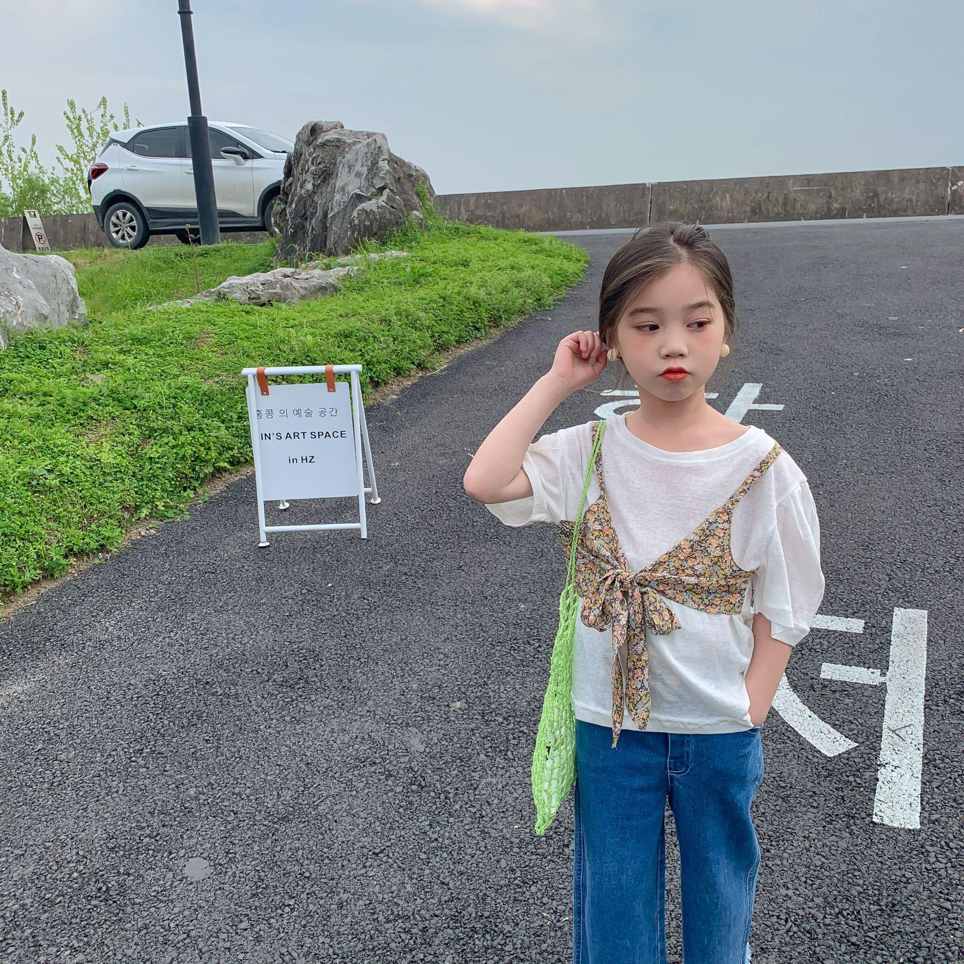 Áo Thun Kiểu Cho Bé Gái - 56T176 - Thời Trang Kids đẹp 1