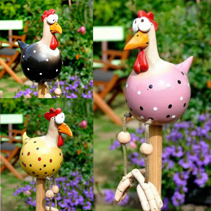 Gift for Chicken Owners - Chicken ornaments for the Kitchen