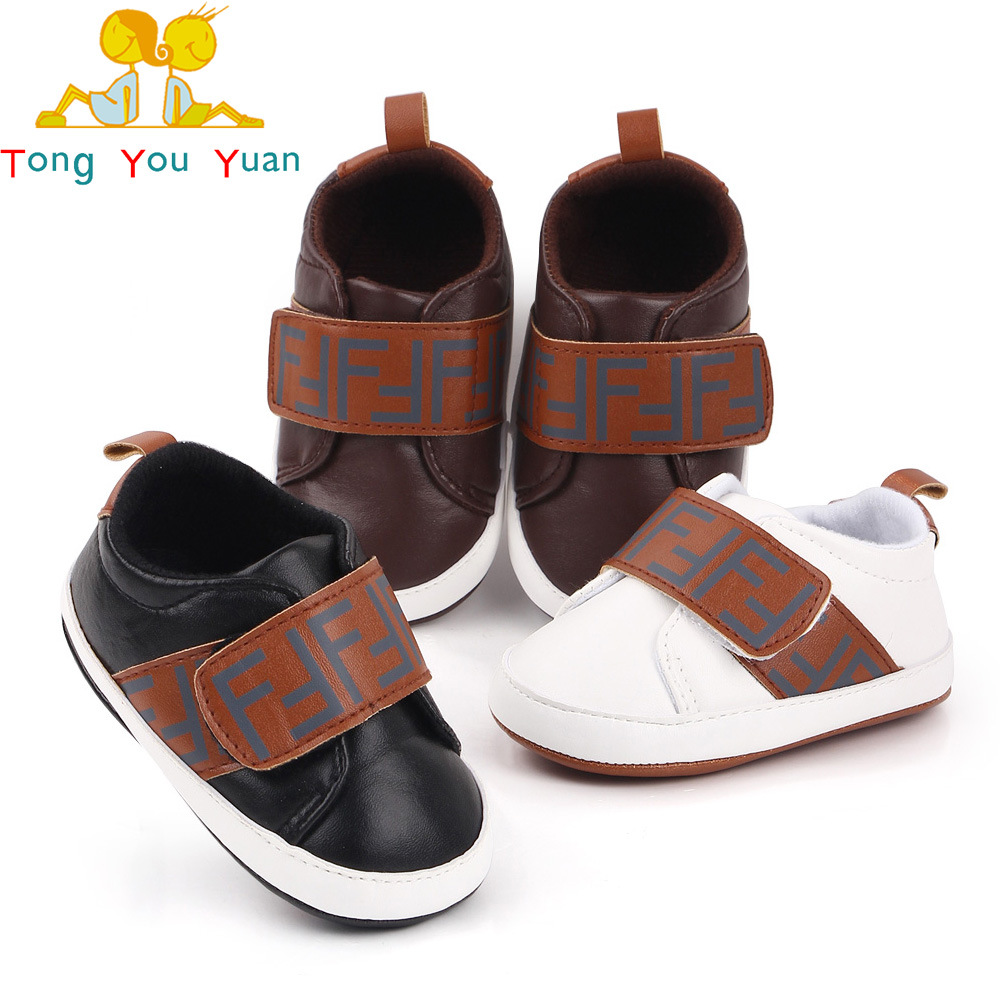 Baby soft-soled non-slip toddler shoes n...
