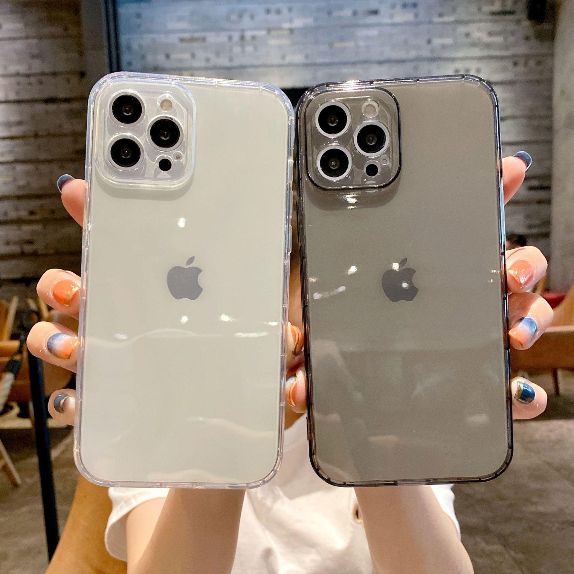 气囊iPhone11手机壳苹果12保护套6s透明8plus简约7软壳xr适用XMAX