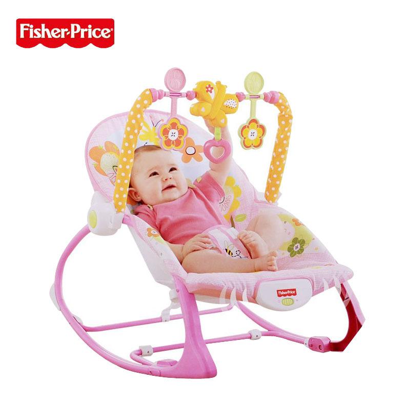 婴儿多功能电动摇椅儿童按摩振动椅轻便躺椅床 安抚摇篮摇椅