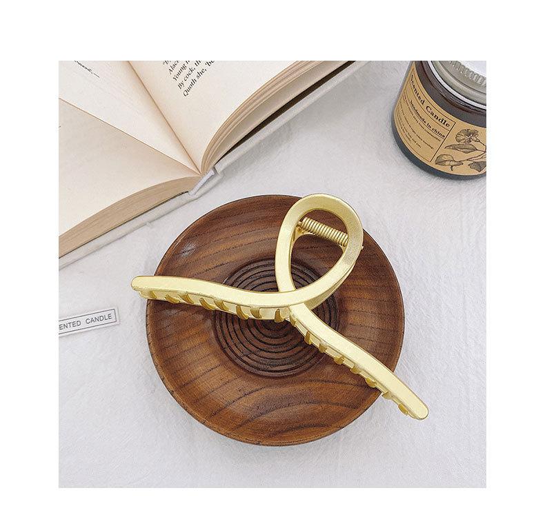 korean fashion simple style geometric alloy large catch clip  NHWB341139