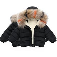 Boys Winter Coat Kids Jackets Girl Child Clothes 男女童棉衣