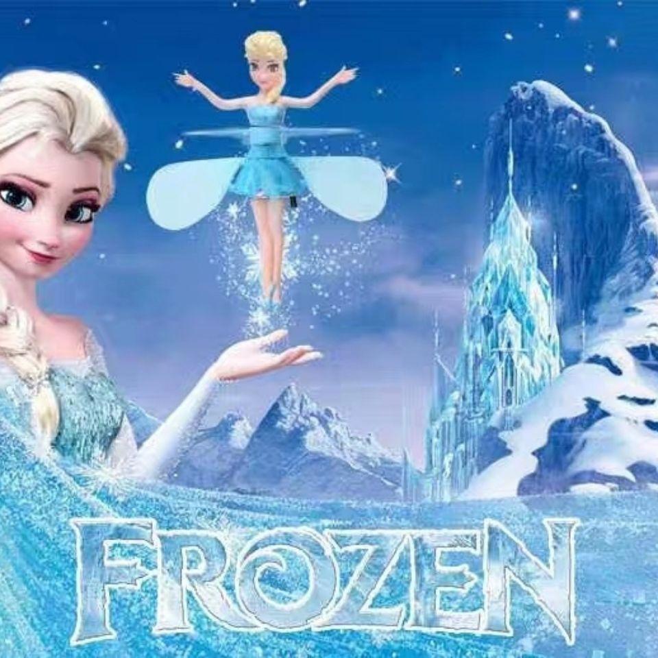 冰雪公主奇缘小仙女飞行器手势感应花仙子悬浮飞机小飞仙儿童玩具