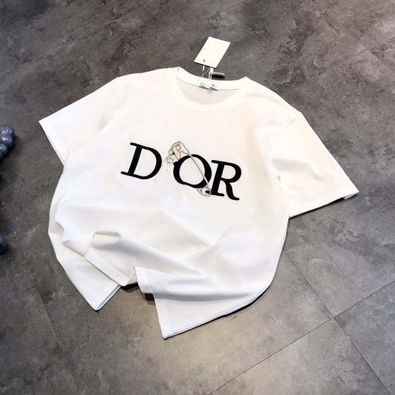 T恤男2021夏季运动短袖男士t恤潮牌纯色半袖宽松情侣装衣服男女装